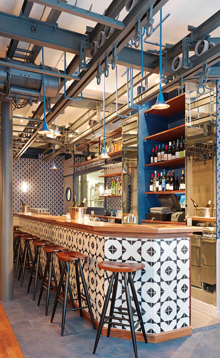 Le Fish Club 58, rue Jean-Jacques Rousseau 75001 Paris France. Photo Kristen Pelou