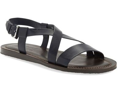 Salvatore Ferragamo 'Nostro' Crisscross Strap Sandal