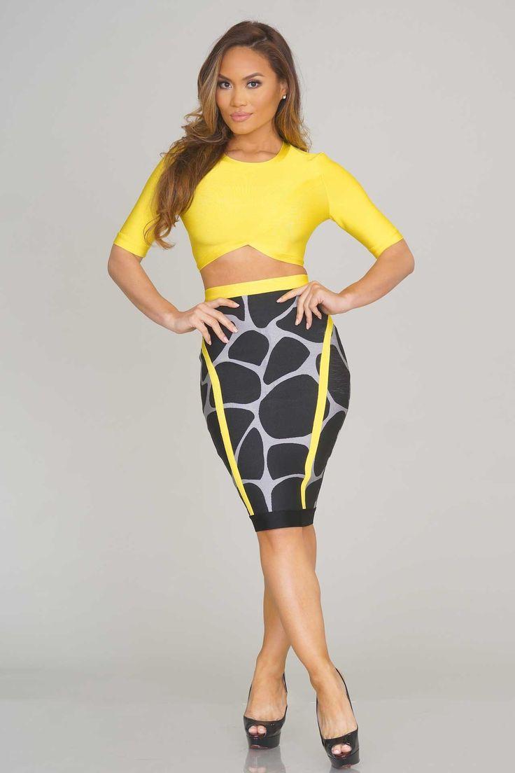 Kianna Bandage Two Piece - New Arrivals | NEW ARRIVALS - November U0026#39;14 | Pinterest | Daphne Joy ...
