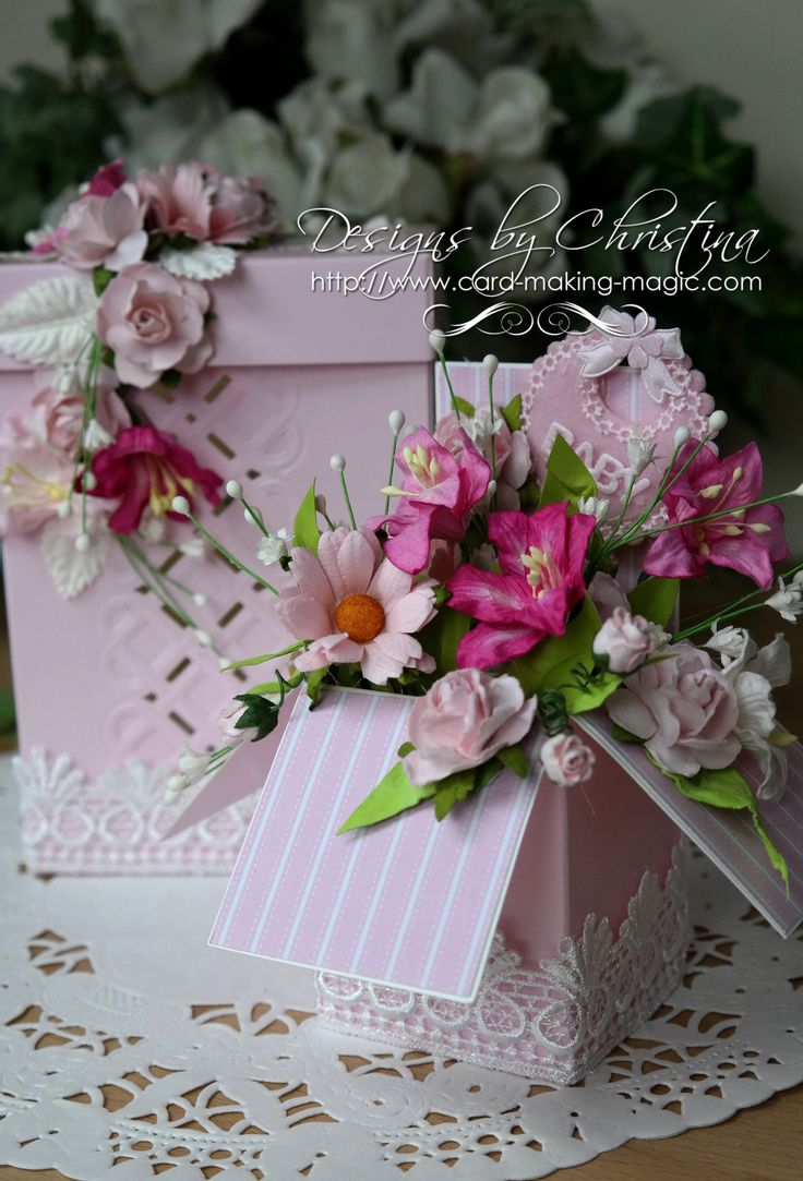 Create this beautiful Pop Up Box and then dress it any way you please