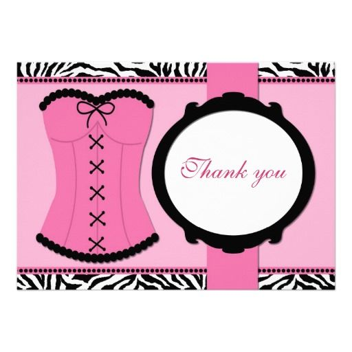 25 best Wedding Shower Thank You Cards images on Pinterest ...