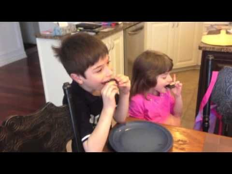 Yes, I'm a bad Father...but had to try the April Fools Oreo trick on my kids