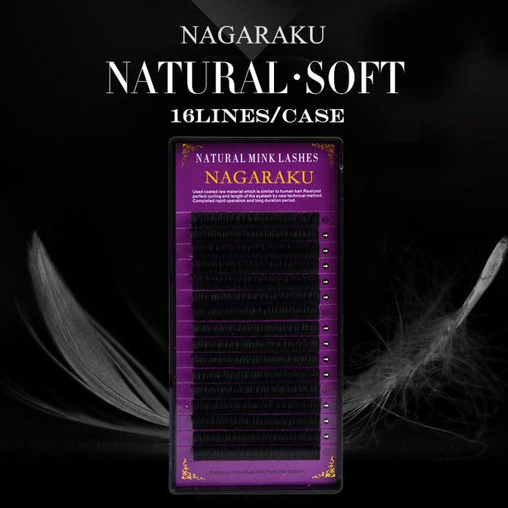 NAGARAKU, de Haute qualité, extension de cil individuel, naturel vison extension de cils, cils extension pour les professionnels dans Faux Cils de Beauté & Santé sur AliExpress.com | Alibaba Group