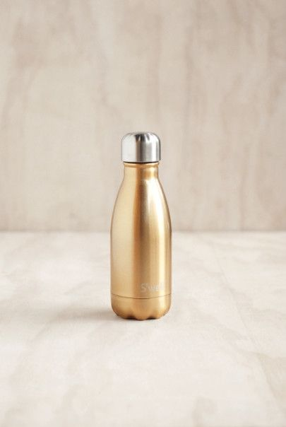 S'Well - Glitter Collection Insulated Stainless Steel Drink Bottle - 260mL - Sparkling Champagne
