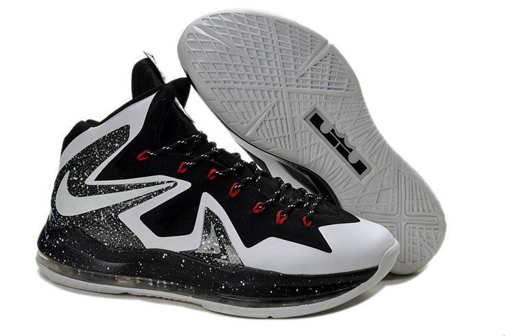 san francisco b1622 46ef1 Lebron X Elite Series Mens Shoes in Black and White, cheap Nike Lebron 10  P.S Elite, If you want to look Lebron X Elite Series Mens Shoes in Black  and White ...
