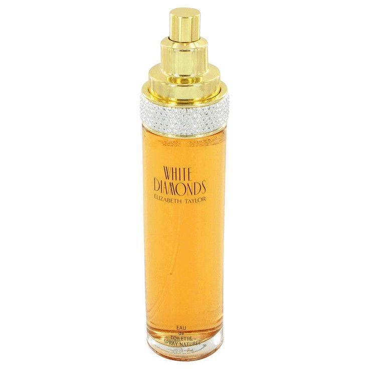 White Diamonds Perfume By ELIZABETH TAYLOR FOR WOMEN-3.4 oz EDT Spray-unboxed #ElizabethTaylor