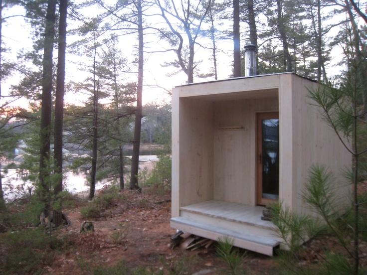 Sauna on Georgian Bay | Nordhaven Studio