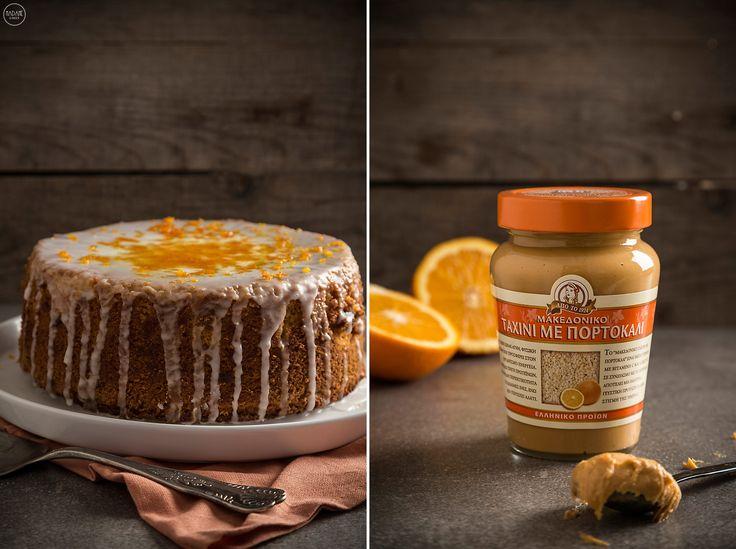Eγώ φτιάχνω αυτό το κέικ με ταχίνι όλον το χρόνο, αλλά για όσους νηστεύετε είναι το τέλειο πρωινό και σνακ για όλη τη διάρκεια της Σαρακοστής