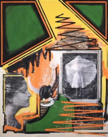 "Saatchi Art Artist Kjetil Jul; Painting, ""Past And Present"" #art"