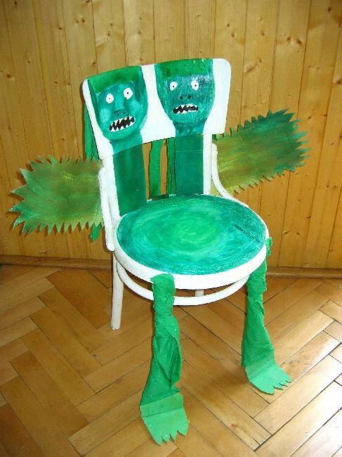 Foto - Židle drak