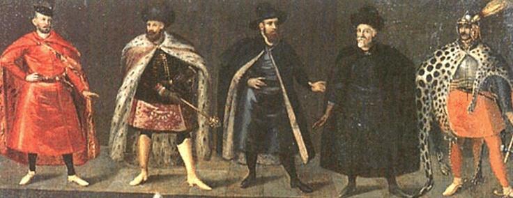 Nobiluomini polacchi, XVII secolo