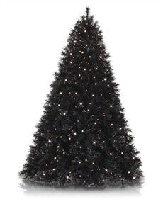Black and White Artificial Christmas Tree Collection | Treetopia