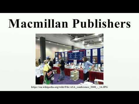 Macmillan Publishers - YouTube