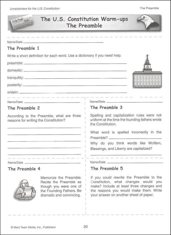 Printables Us Constitution Worksheet pinterest the worlds catalog of ideas