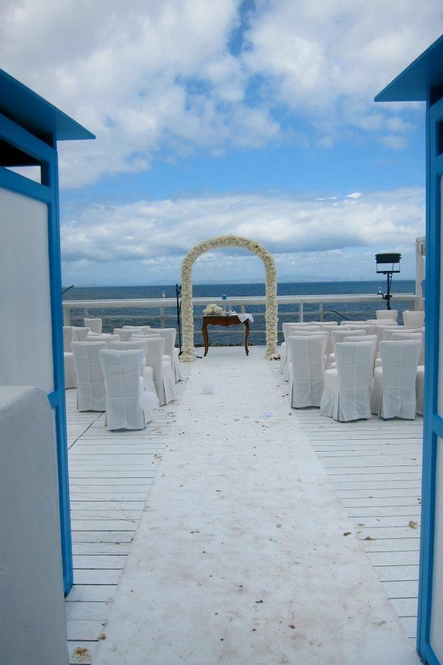 beach wedding in new jersey%0A New dream wedding  Took this photo last weekend at Il Riccio Ristorante in  Capri