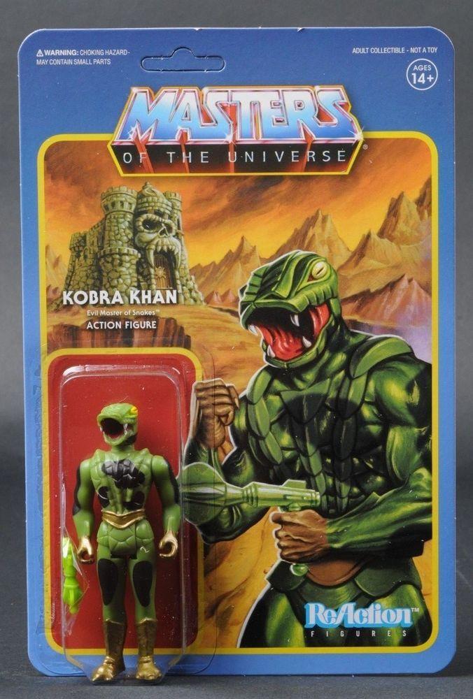 Master of the Universe Kobra Khan Reaction Figure