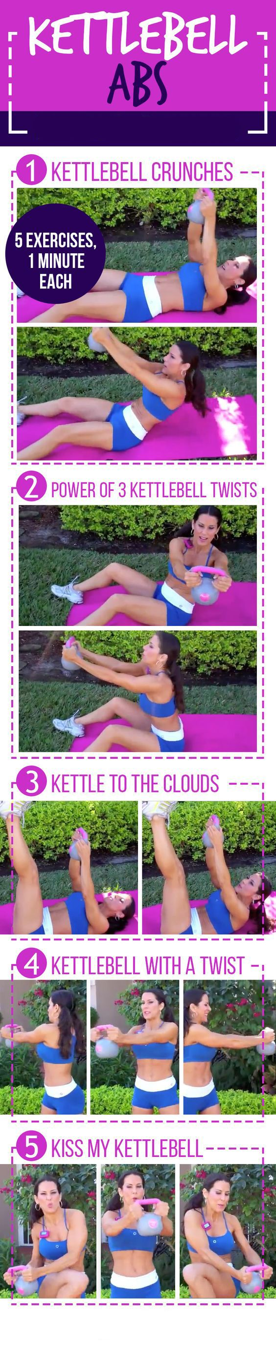 Kettlebell Ab Workout | Posted By: CustomWeightLossProgram.com