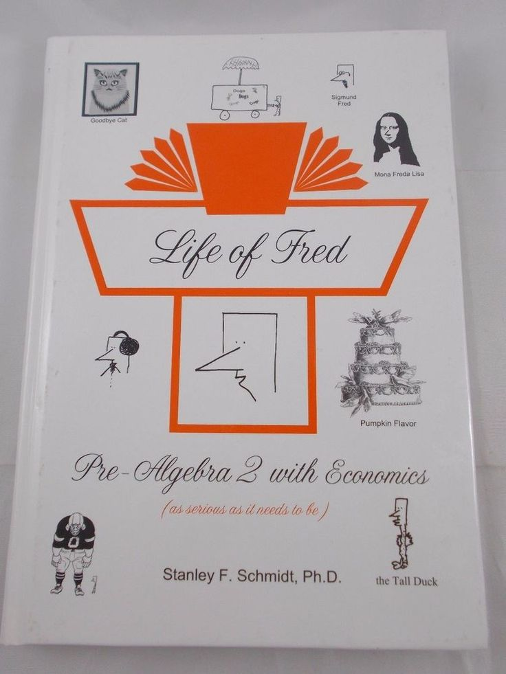 Life of Fred Pre-Algebra 2 with Economics Book Hardcover