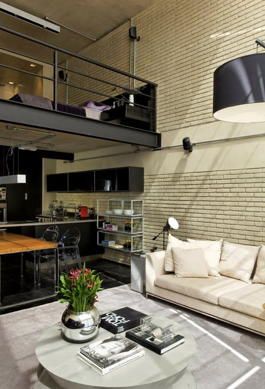 From an industrial unit to an inviting apartment design » Adorable Home