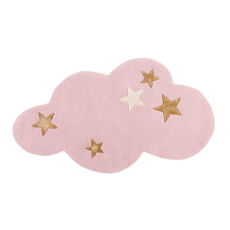 Wolkenkleed van roze wol 130x75 | Maisons du Monde