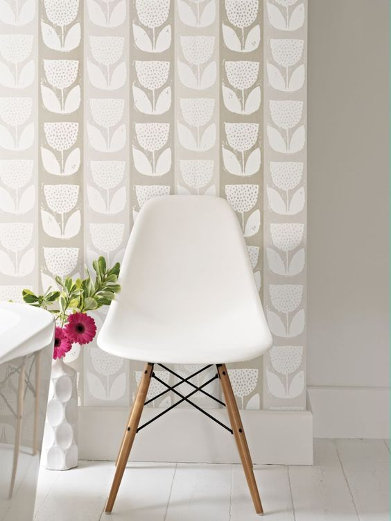 How #cute is this wallpaper! This is Evie from the brand new Studio collection by Prestigious