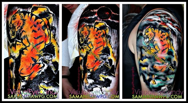 Samantha Wpg Live Body Painting Demo The Winnipeg Taboo Show 2014