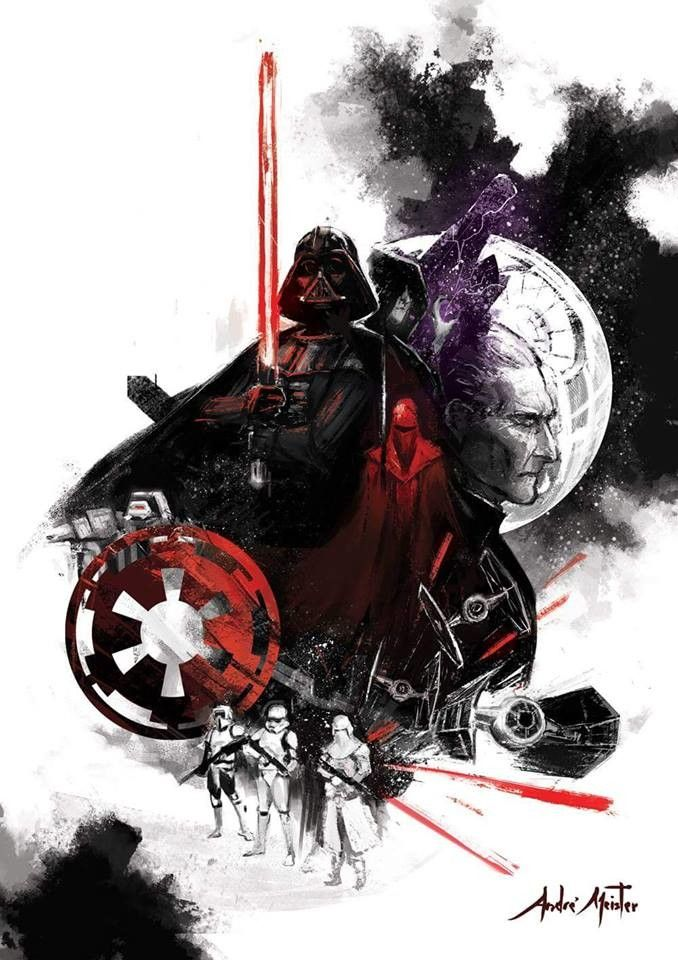 ArtStation - Star Wars - Empire, André Meister