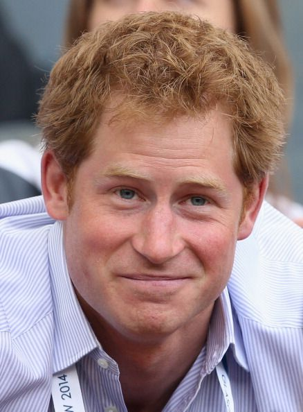 Prince Harry at the Commonwealth Games, July 2014