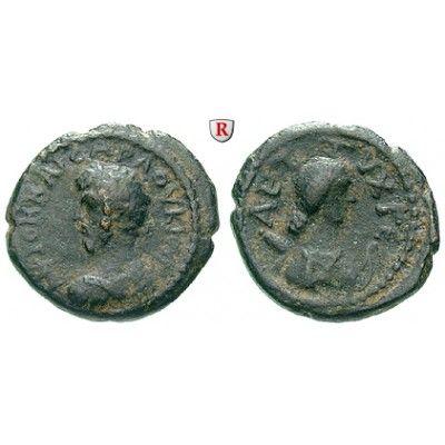 Römische Provinzialprägungen, Dekapolis, Gerasa, Lucius Verus, Bronze, ss: Dekapolis, Gerasa. Bronze 16 mm. Gepanzerte Büste l. mit… #coins