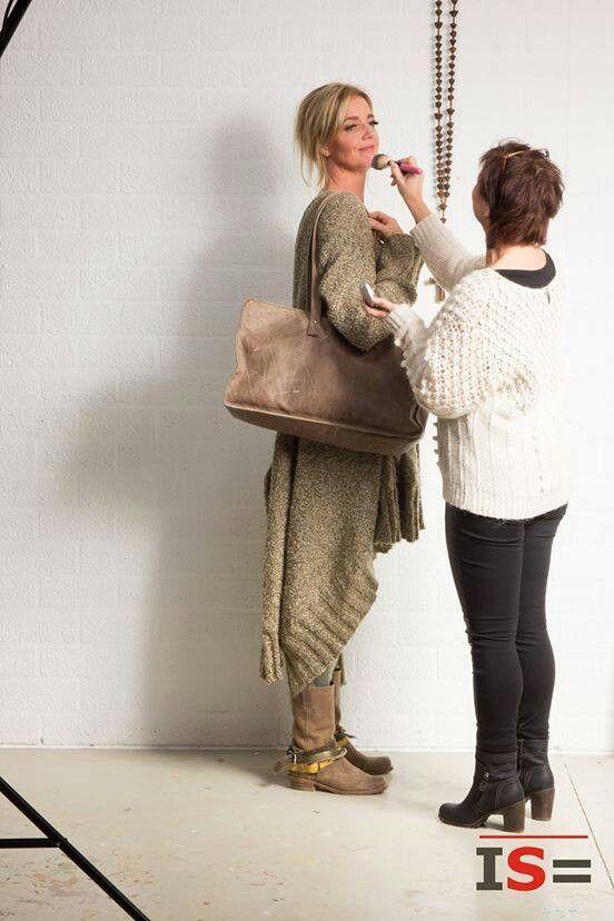 Met Jacqueline Bozon voor Ingeborgs bagS