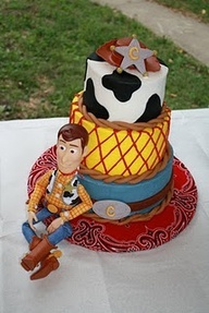Woody Cake for Lilly's Birthday