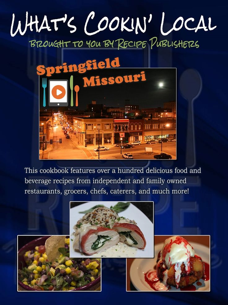 """This new printed version of our """"What's Cookin' Local"""" cookbook is now available on Amazon.com. Just in time for the holidays, this cookbook will make a great Christmas gift. Order your copies today! http://www.amazon.com/Whats-Cookin-Local-Springfield-Missouri/dp/0989813711/ref=sr_1_3?ie=UTF8&qid=1416190207&sr=8-3&keywords=What%27s+Cookin%27+Local."""