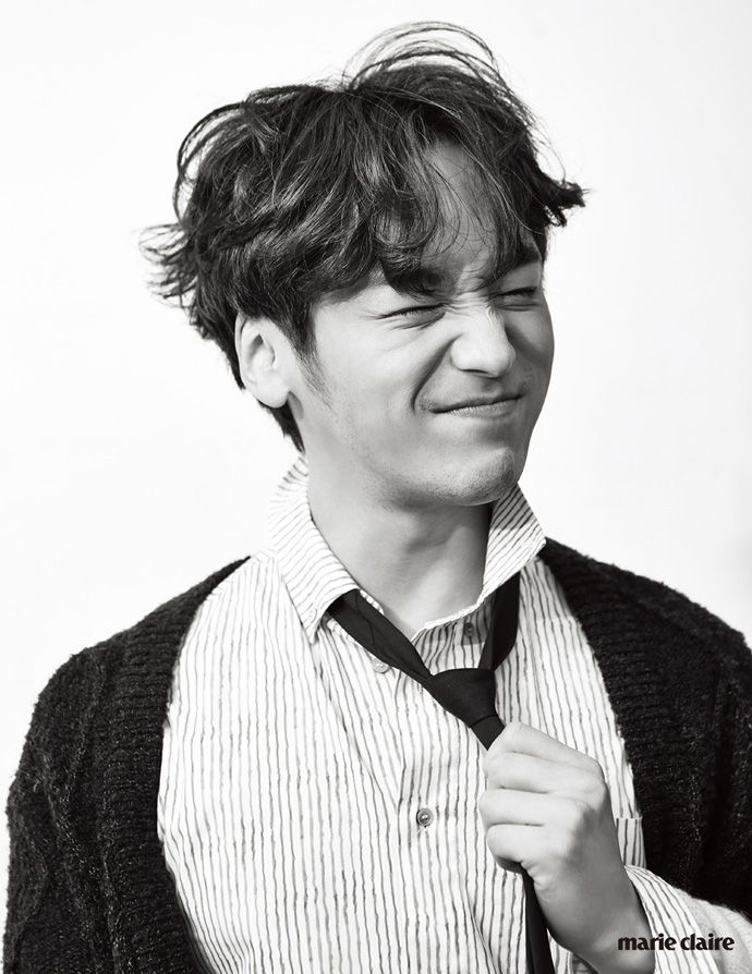 Misaeng's Byun Yo Han's Fun Black & White Shoot For Marie Claire Korea (UPDATED) | Couch Kimchi