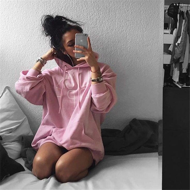 Women Hoodie Sweatshirt Jumper Sweater Print Letter crop sport Pullover Tops(China (Mainland))