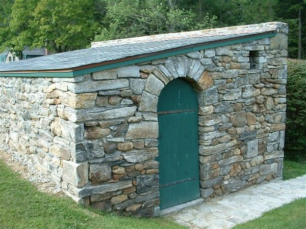 48 best images about old stone sheds on pinterest for Brick garden shed designs