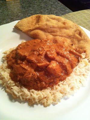 taylor made: crockpot Indian butter chicken