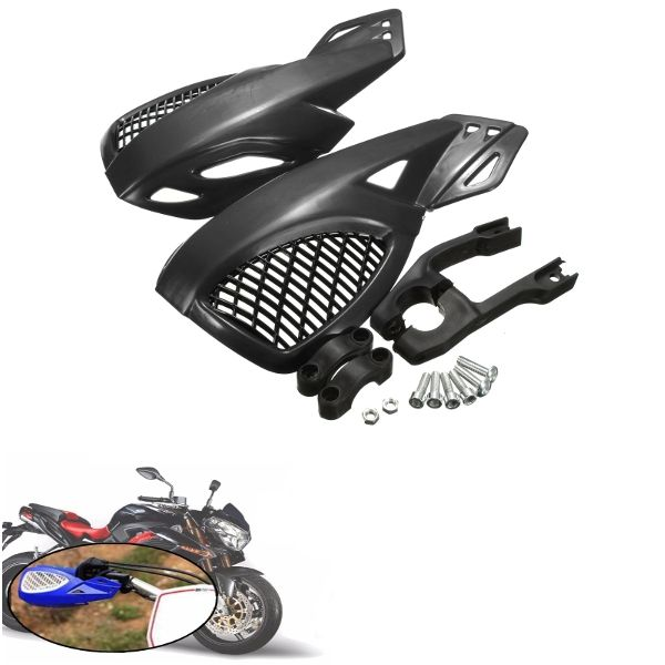 22mm Motocicleta Motocross Handguards Guardias de mano para Honda / Suzuki / Yamaha KTM ATV Dirt Bikes Off Road