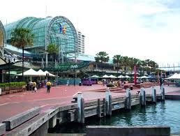 Alex took Juliet to dinner at Darling Harbour