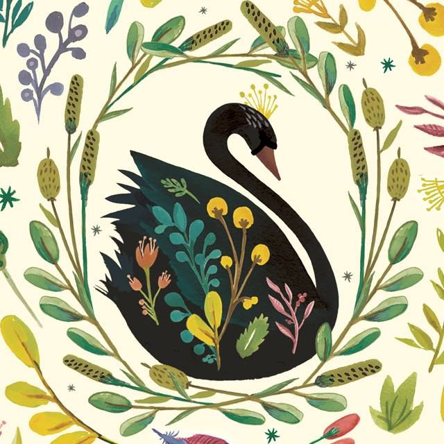 MOZI's gifted creative team have crafted a range with a distinctly lyrical design aesthetic, featuring the ever so elegant and graceful black swan.