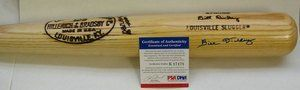BILL DICKEY AUTOGRAPH BAT PSA/DNA New York Yankees . $450.00. THIS IS FORA AUTOGRAPHMODEL BATOFNEW YORK YANKEESHALL OF FAMERBILL DICKEY. THE BAT ISSIGNED IN BLUE SHARPIE.THE BAT IS PSA/DNA. AND COMES WITH A CERTIFICATE OF AUTHENTICITY FROM PSA/DNA.PLEASE SEE SCAN