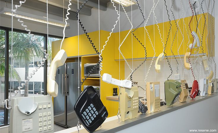 Leading Edge Communications redecoration - wall