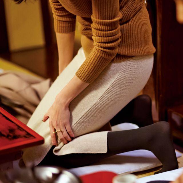 忘年会&新年会で大活躍❤︎【ニットタイトスカート】は神アイテム-@BAILA ワタシを惹きつける。モノがうごく。リアルにひびく。BAILA公式サイト|HAPPY PLUS(ハピプラ)集英社