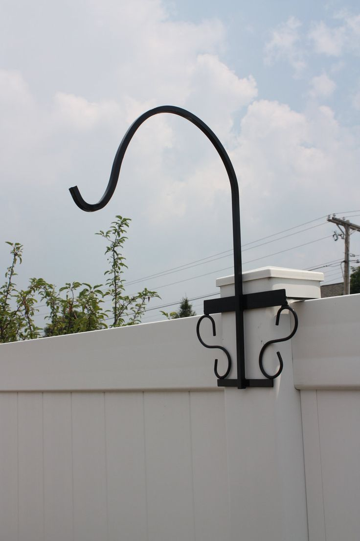 Wrought Iron Shepherd S Hook For Vinyl By
