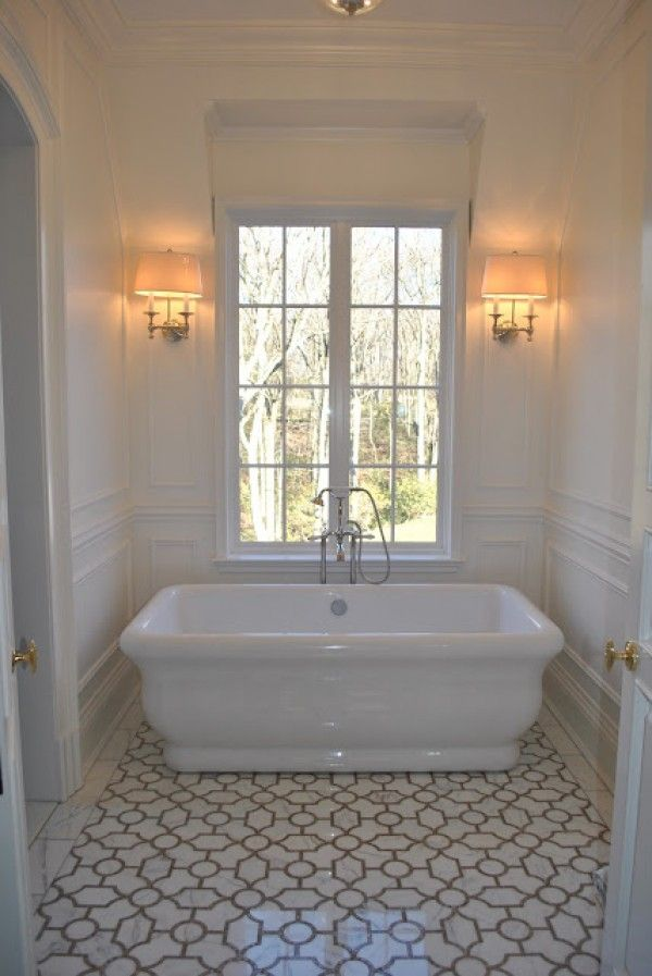 love the tile and tub