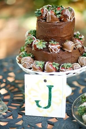 Engagement Cakes Chocolate