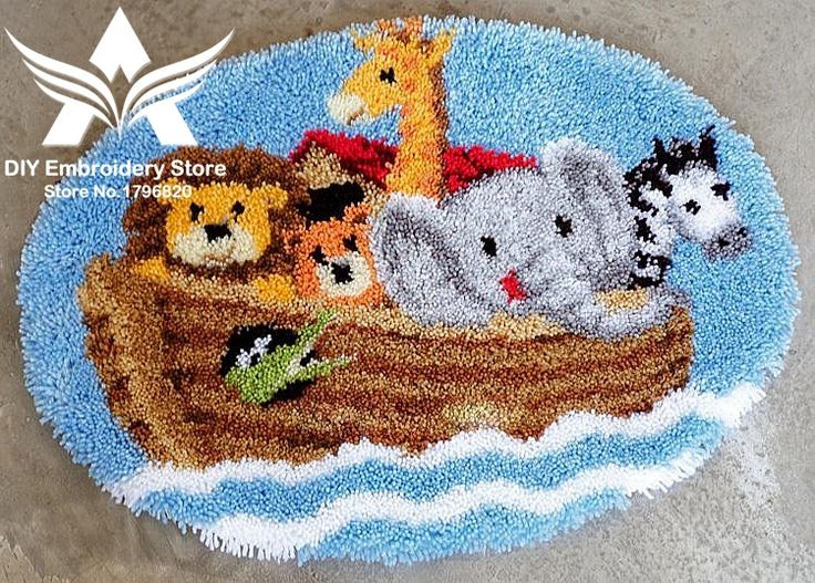 1000 Images About Latch Hook Rug Kits On Pinterest