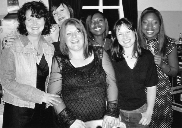 Just a few of our FABULOUS ex Guru girls. L to R: Julie, Krissie, Kelly, Chrissie, Angelica, Georgie. Love these people!!! xxx