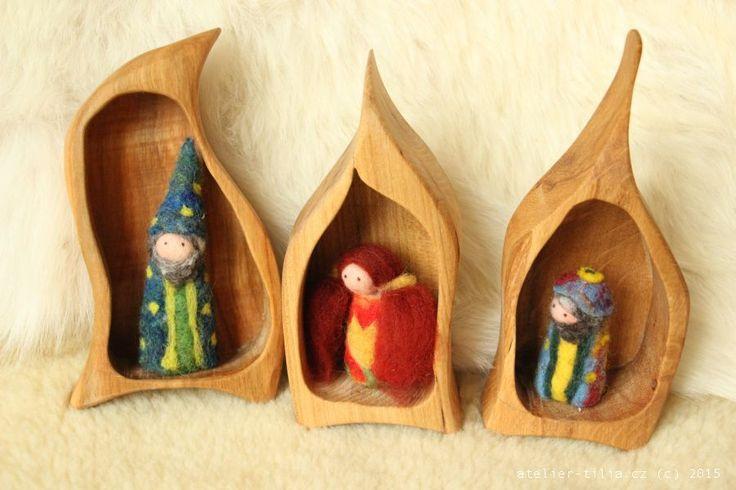 Skřítkovník - Ateliér Tilia - umělecké dřevořezby, muzikoterapeutické nástroje, metalofony, litofony, lyry, nábytek, dřevěné rámy a doplňky