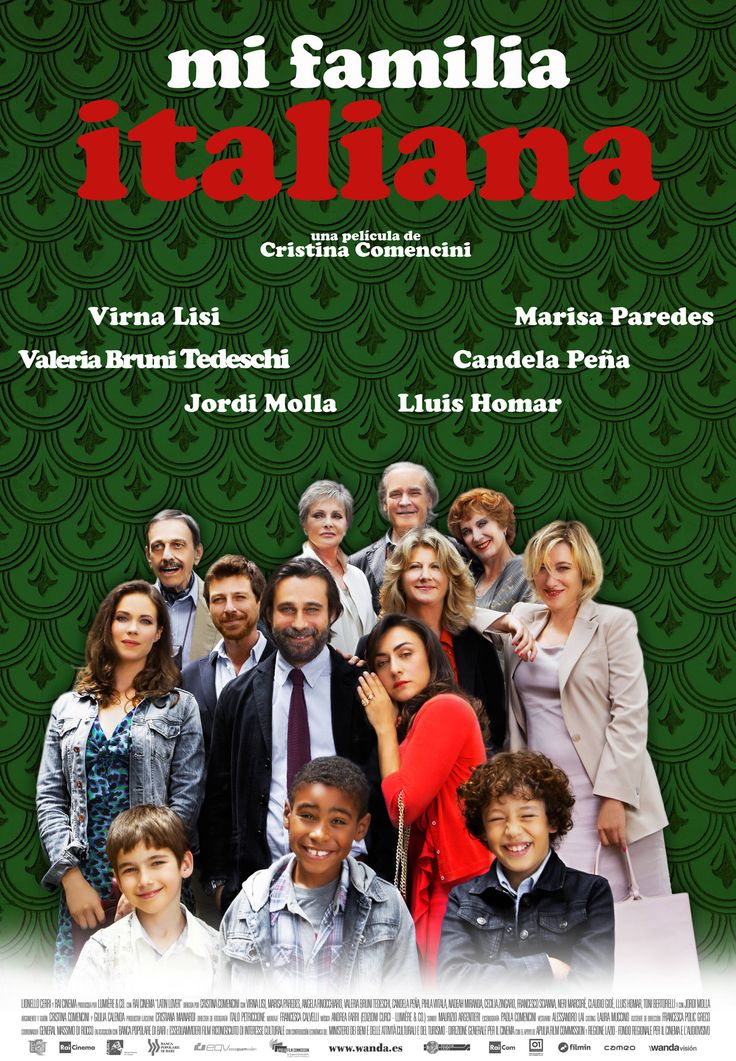 Mi familia italiana / Dir: Cristina Comencini. Intèrprets: Virna Lisi, Marisa Paredes, Valeria Bruni Tedeschi.