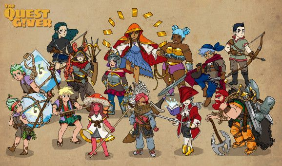 In most role-playing games, side quests appear out of nowhere on town boards that act like fantasy versions of Craigslist. The Quest Giver puts you behind the scenes as you head up your own guild and hire adventurers. The guild simulator is the second gam